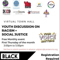 Virtual Town Hall Youth Discussion on Racism + Social Justice