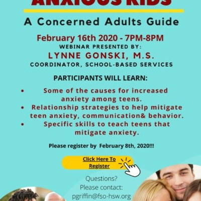 Helping Anxious Kids: A Concerned Adults Guide