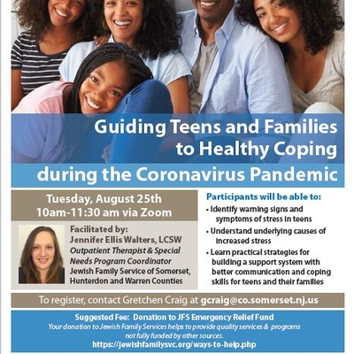 Guiding Teens and Families to Coping during the Pandemic